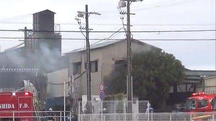 Perusahaan Pengumpul Kertas Bekas di Shizuoka Jepang Terbakar, Seorang Penghuninya Tewas