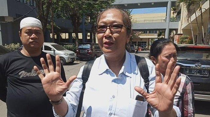 Perwakilan ormas, Tri Susanti, perwakilan ormas yang meminta maaf soal insiden di Asrama Mahasiswa Papua di Surabaya.
