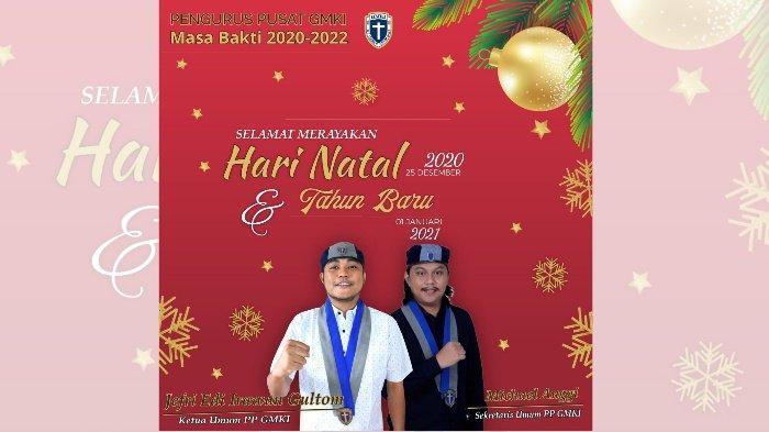 Pesan Natal Gerakan Mahasiswa Kristen Indonesia 2020: Lihatlah, Kristus Menjadikan Semuanya Baru