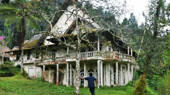 Serem, Ada Bangunan Kuno Tinggalan Jaman Belanda di Lereng Merapi