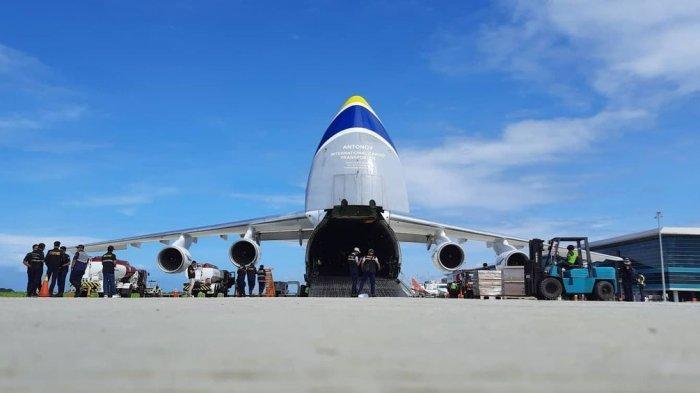 Antonov Mampir Lagi ke Bandara YIA, Bawa Muatan Kargo Lebih Besar, Ini Foto-fotonya