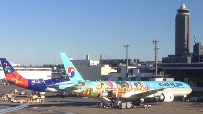 Maskapai Asing Menuju Jepang Hanya Boleh Bawa 100 Penumpang dalam Sekali Penerbangan