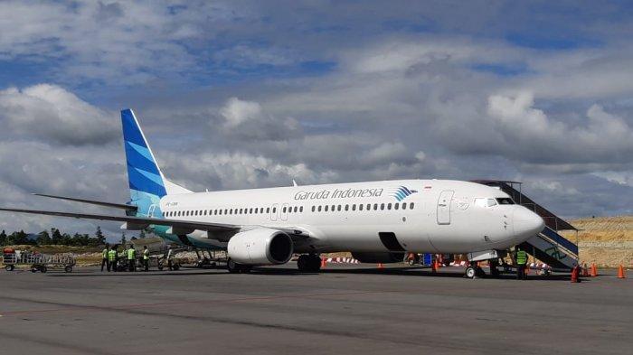 Pakai Pesawat Boeing 777, Garuda Indonesia Angkut Bantuan 40 Ton Alat Kesehatan dari Tiongkok