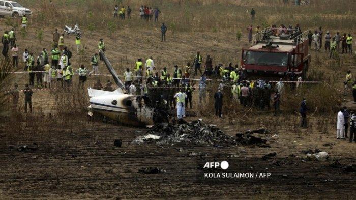 Pesawat Militer Nigeria Jatuh di Dekat Bandara Abuja, 7 Orang Tewas