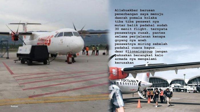 Pesawat Miring dan Bergoyang Tak Wajar lalu Putar Balik, Wings Air Benarkan Adanya Kesalahan Teknis