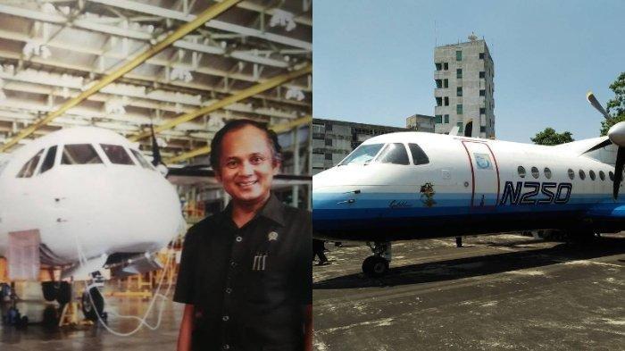 Mengenal Pesawat N250 Gatotkaca Karya BJ Habibie yang Sempat Membuatnya Sedih saat Proyek Dihentikan