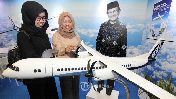 Diganti Drone, Proyek Pesawat R80 dan N245 Dicoret dari Daftar Proyek Strategis Nasional
