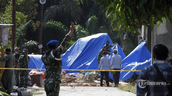 Pesawat BAe Hawk 109 TNI AU Jatuh di Kampar Riau karena Kehilangan Tenaga Saat Akan Landing