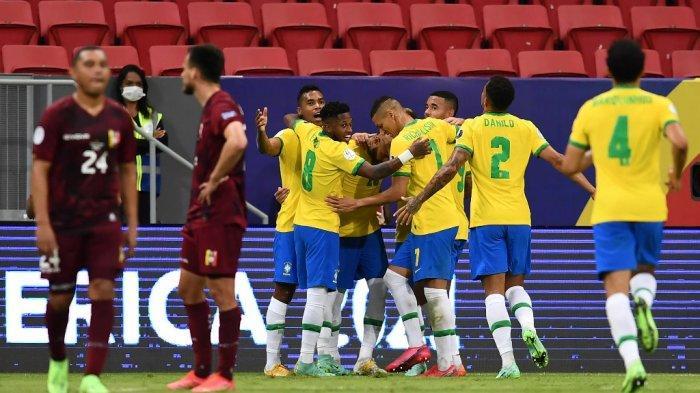 HASIL KLASEMEN Copa America - Brasil Digdaya Tanpa Celah, Ini Jadwal Tanding Argentina vs Uruguay