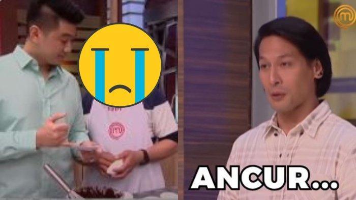 Chef Arnold Ngamuk saat Temukan Peserta MasterChef Indonesia Berbuat Curang: You're Disqualified!
