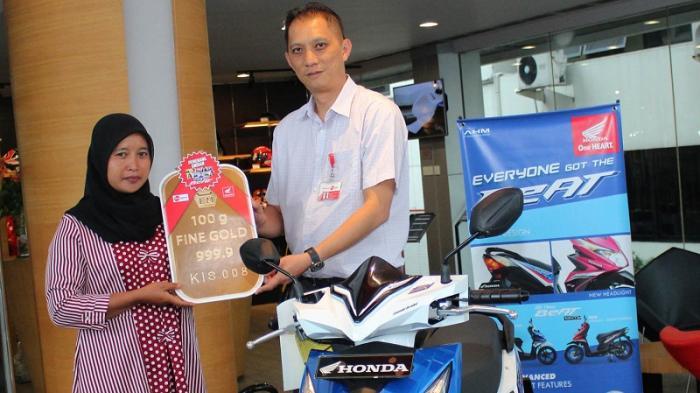 231 Konsumen Honda di Jawa Barat Jadi Pemenang Program Pesta BeAT 10 Juta
