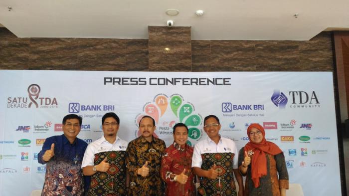 Pestanya Wirausaha Indonesia Digelar di TMII