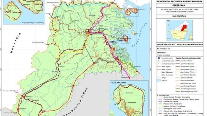 Jalur Kereta Api Sepanjang 305 Km Akan Dibangun di Kaltara, Bakal Perkuat Keamanan Perbatasan