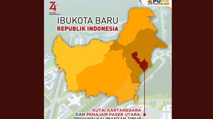 5 Fakta Ibukota Baru Kutai Kartanegara, Kaya Akan SDA dan Lokasi Kerajaan Tertua di Indonesia