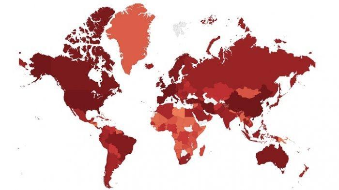 Simak update corona di dunia per Jumat 27 Maret 2020 pukul 16.00 WIB. Berikut ini enam negara dengan peningkatan kasus Covid-19 terbanyak.