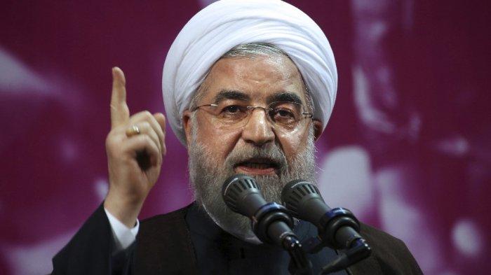 Petahana Presiden Iran, Hassan Rouhani (AP)