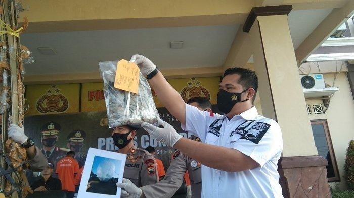 Polisi Pastikan Petasan yang Dibawa Balon Udara Raksasa yang Meledak di Klaten Berdaya Ledak Rendah