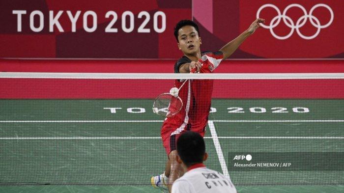 Bulutangkis Olimpiade 2021 - Singkirkan Anthony Ginting, Chen Long di Ambang Patahkan Rekor Lin Dan