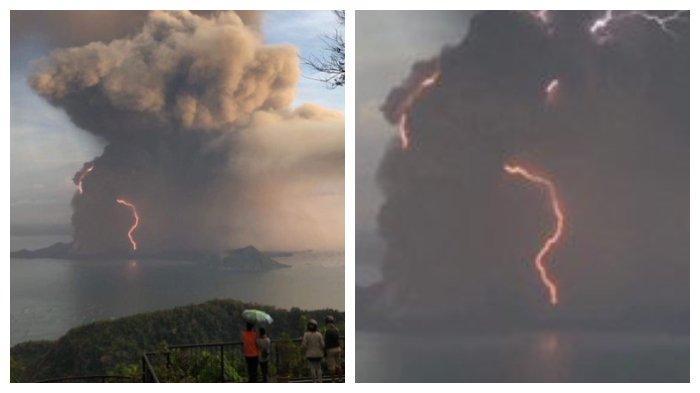 Penjelasan Pengamat Soal Petir Saat Gunung Taal Erupsi, Pernah Terjadi di Gunung Merapi