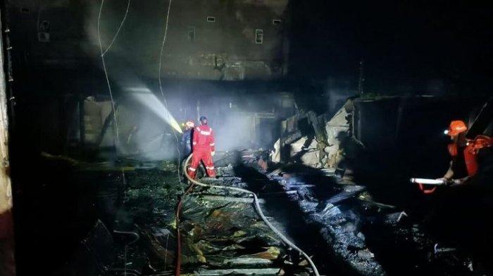 Penginapan di Riau Terbakar, 6 Orang Tewas, Korban Ditemukan Bertumpuk di Ujung Lorong