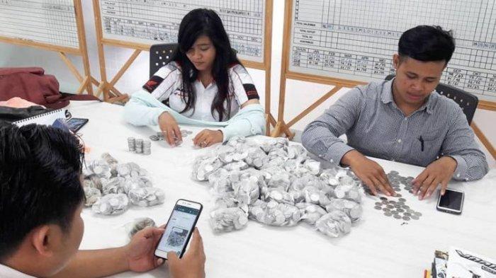 Kisah Ibu di Semarang Tukarkan Koin 25 Kg dengan Honda Scoopy