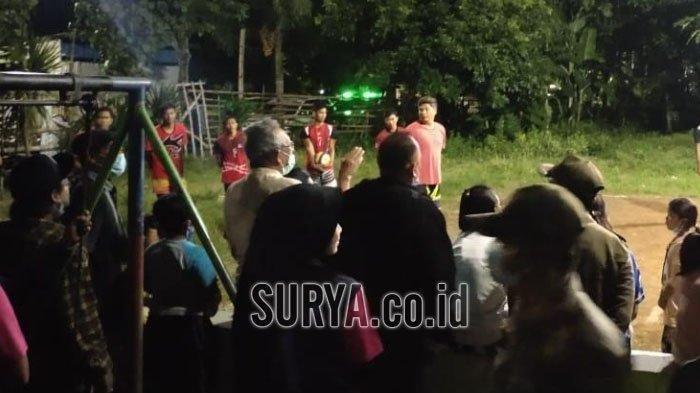 Cegah Covid-19, Polisi di Kediri Bubarkan Pertandingan Voli dan Acara Live Music
