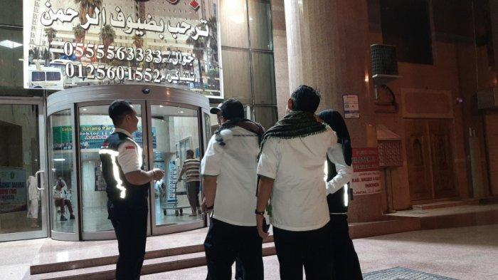 Petugas lakukan penyisiran jemaah di hotel-hotel di Kota Makkah hingga tengah malam