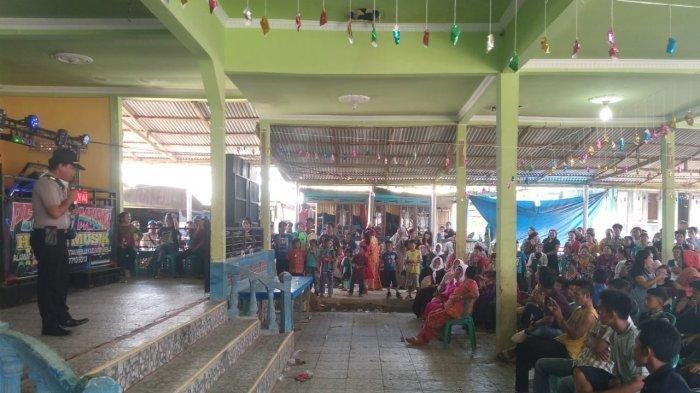 Polisi Hentikan Resepsi Pernikahan di Balai Desa Kagungan Dalam Mesuji
