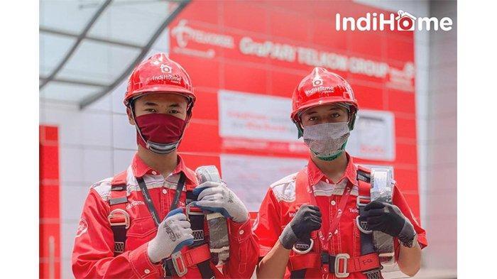 Kiprah Teknisi Indihome, Pahlawan Internet Stabil di Zona Merah Covid-19
