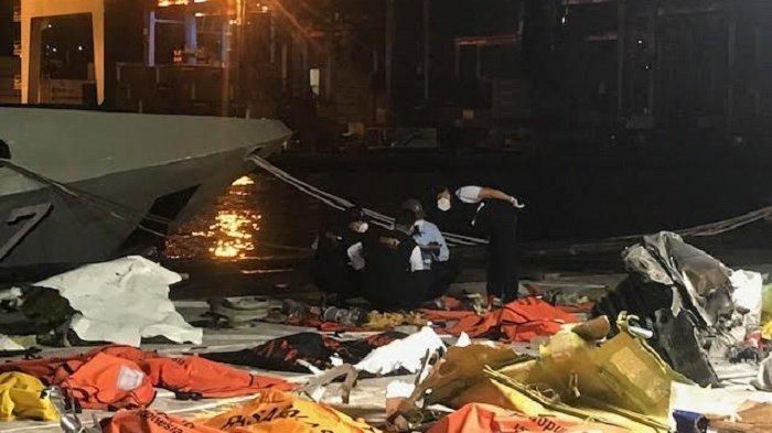 Velg Roda Pesawat Sriwijaya Air SJ-182 Berhasil Ditemukan dan Langsung Diserahkan ke Basarnas