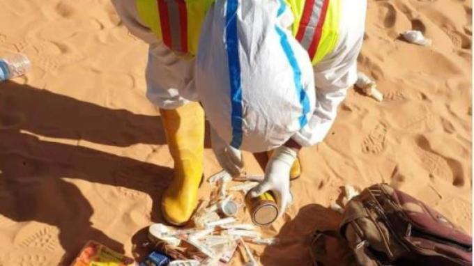Petugas menemukan barang-barang berserakan milik 8 anggota keluarga