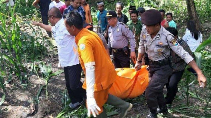 Warga Ngawi Gempar, Mayat Wanita Tanpa Busana Ditemukan Warga di Kebun Jagung