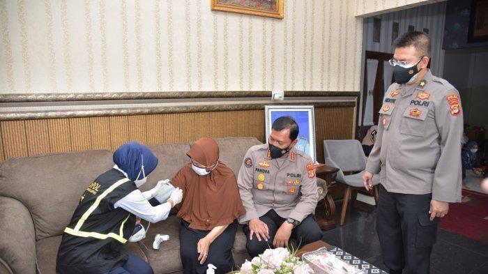 KRI Nanggala 402 Tenggelam, Keluarga Letkol Heri Oktavian Dapat Pendampingan Dari Polda Lampung