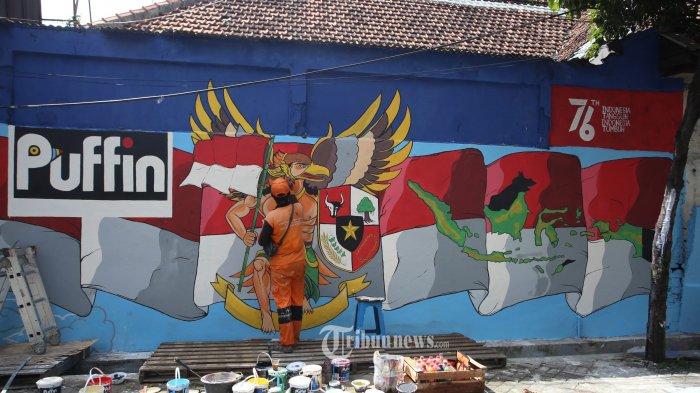 Merayakan HUT Kemerdekaan Indonesia ke-76 dalam Coretan Warna