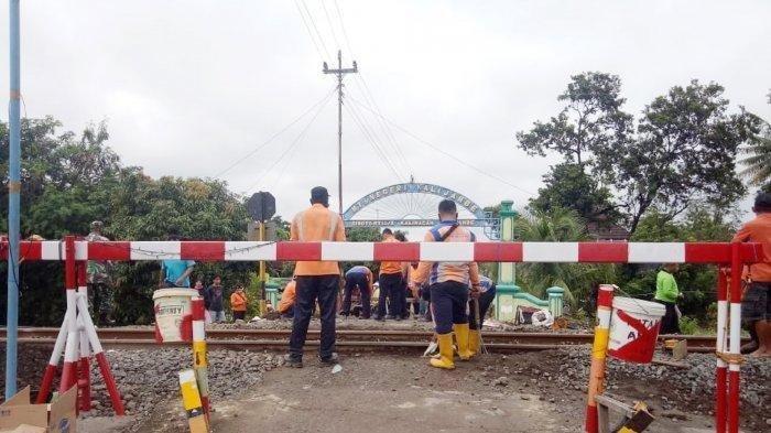 Perlintasan KA Tanpa Palang Pintu di Kalijambe Sragen Ditutup, Buntut Tewasnya 2 Polisi dan Satu TNI