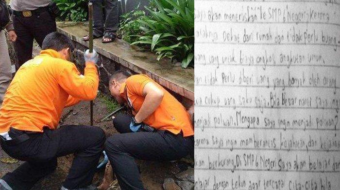 Terungkap! Hal Sepele Ini Buat Ayah Kandung Tega Cekik Hingga Buang Anak Kandung di Gorong-gorong