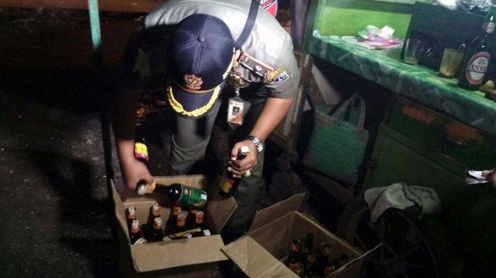 Pengiriman Ratusan Botol Miras ke Pantai Selatan di Gagalkan Polres Bantul