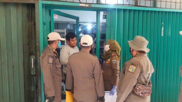 Satpol PP Segel 28 Ruko di Sawah Besar karena Melanggar Aturan PSBB