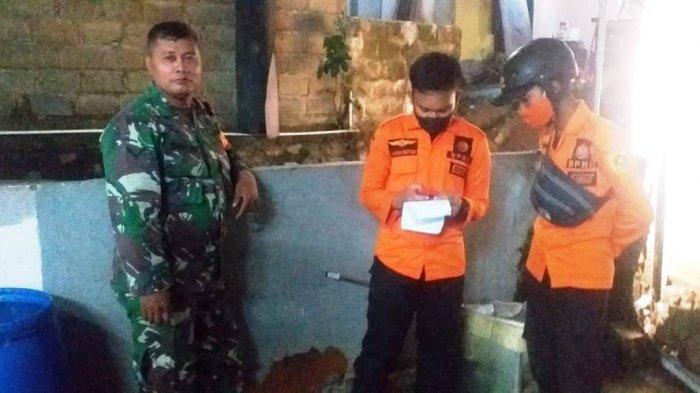 Hujan Deras Akibatkan Satu Rumah Warga Pabuaran Bojonggede Bogor Rusak