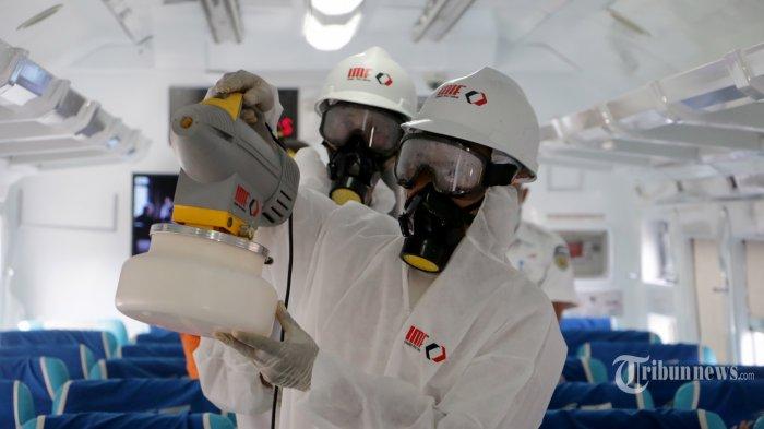 Corona Makin Meluas, Kompleks Parlemen Akan Disemprot Cairan Disinfektan