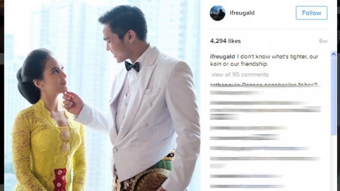 Pevita Pearce Tampak Salah Tingkah Saat Ditanya Soal Pria yang Kerap Muncul di Instagramnya