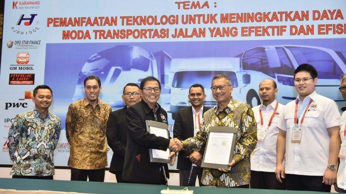 PGN dan APTRINDO Tanda Tangani MoU Pemanfaatan Bahan Bakar LNG Untuk Truk Logistik