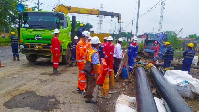 Siap Penuhi Kebutuhan Gas Bumi Jateng, PGN Finalisasi Pembangunan Interkoneksi Pipa Gresem - Kalija