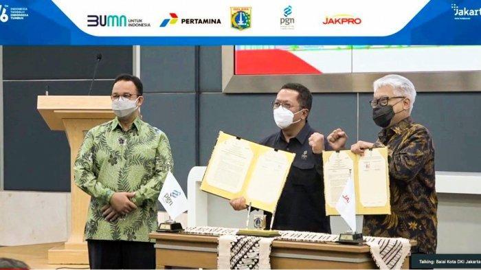 Jakpro dan PGN Bangun Infrastruktur Gas Bumi di Wilayah Jakarta