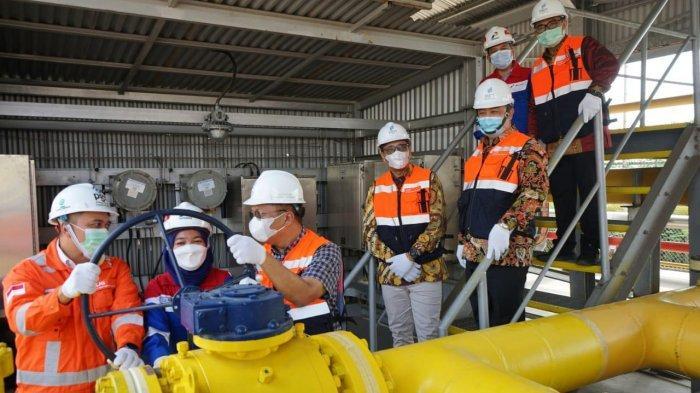 PGN Resmikan Jumperline Tambak Lorok Penuhi Permintaan Gas di Jateng