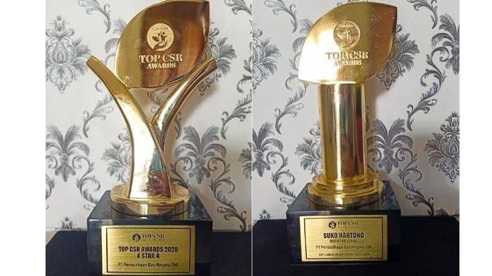 PGN dan Dirutnya Raih Penghargaan TOP CSR Awards 2020