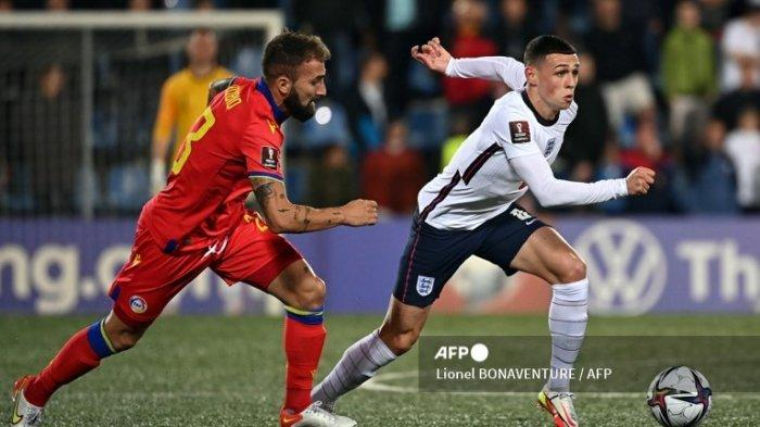 Phil Foden Tak Cetak Gol Saat Inggris Bantai Andorra tetapi Jadi Man of The Match Karena Alasan Ini