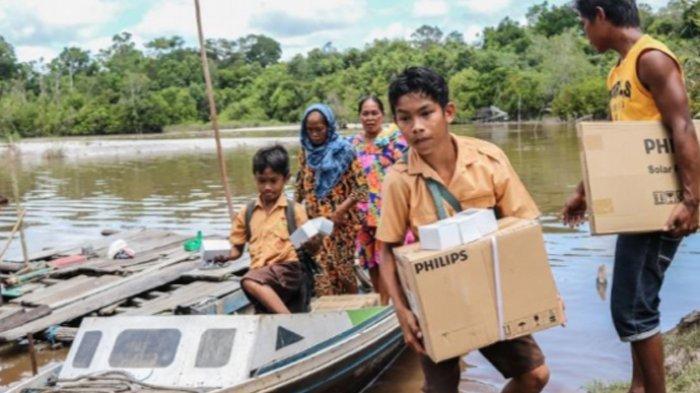 Program 'Kampung Terang Hemat Energi' Jangkau Daerah Pelosok di Kalimantan Tengah
