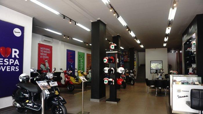 Dealer Motor Piaggio Vespa Ini Berkonsep Motoplex, Berdesain Canggih dan Bergaya Khas Italia