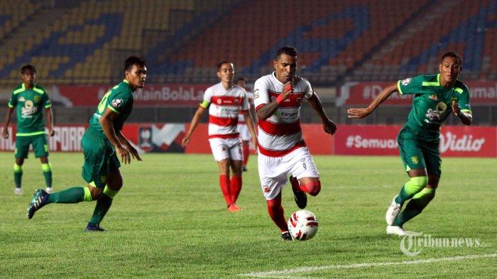 LIVE Streaming TV Online Indosiar Persela vs Madura United Piala Menpora 2021 Pukul 18.15 WIB
